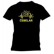 Majica čebelar satovje